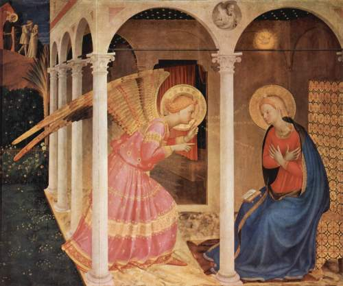 Fra Angelico, The Annunciation. 1433-4.